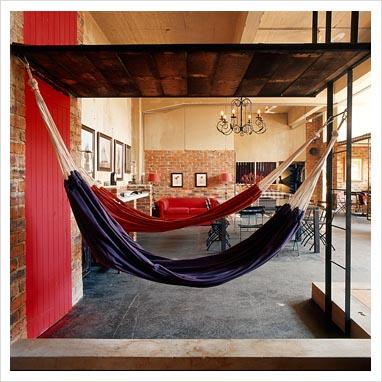 Breeze that indoor hammock a perspective of design for Indoor hammock design