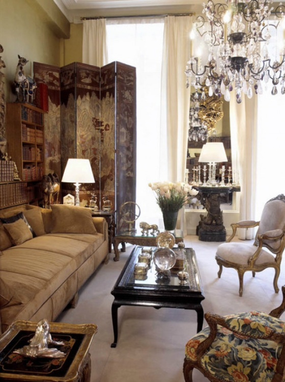 Corner Curtains likewise Coco Chanel Interiors besides Paint And Accent Wall Ideas To Transform Your Room besides Boyd further 5. on living room style statements