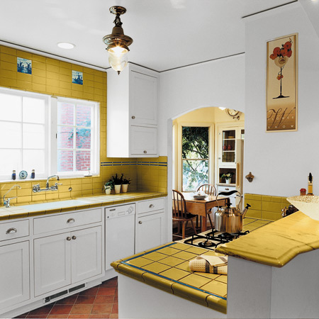 My Yellow Tile Fever a perspective of design