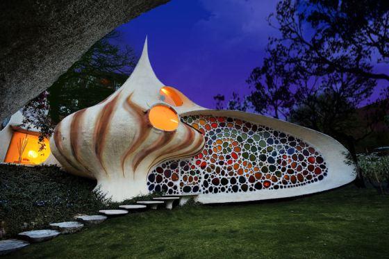 Nautilus House in Mexico City by architect Javier Senosiain